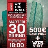 Vans off the Wall – Skate Contest
