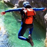 Canyoning alle Gole di Caccaviola