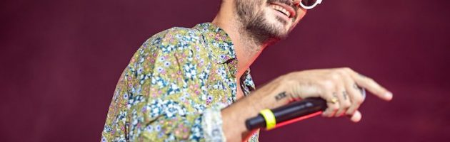 Carl Brave in concerto all'Ex Base di Bagnoli